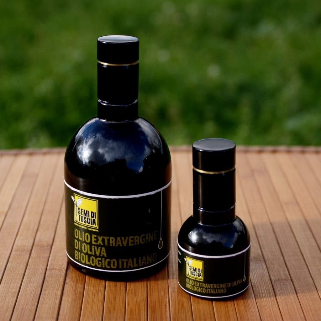 olio extravergine Semi di Tuscia
