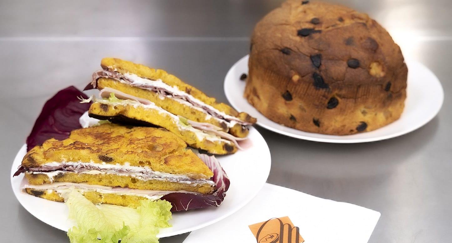 Il club sandwich di panettone di Vincenzo Santoro