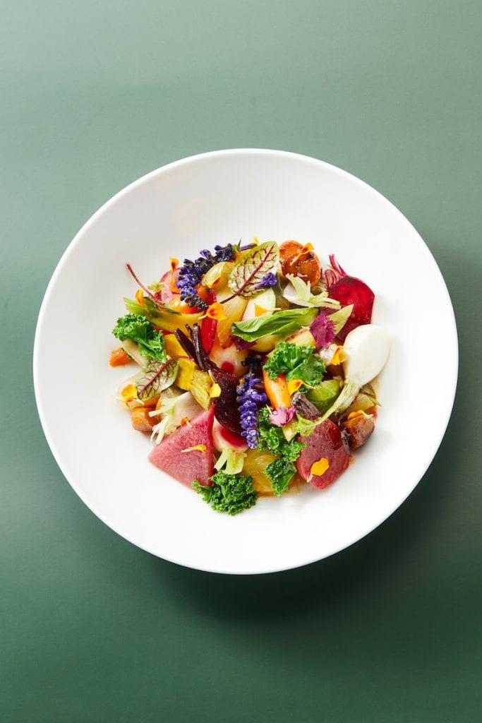 piatto del ristorante la scala di shanghai chef antonio corsaro