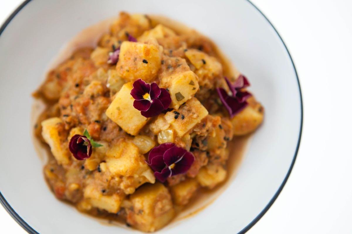 Curry di verdure vegano