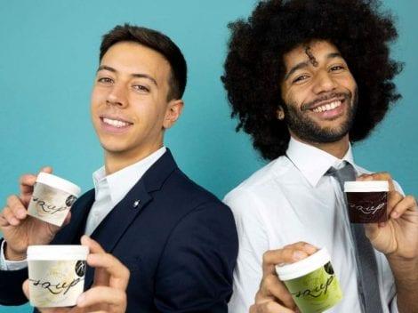 I creatori del nuovo gelato Squp
