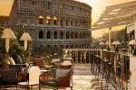 Vista sul Colosseo al The Court