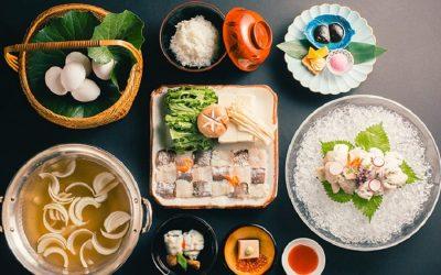 I piatti della cucina washoku