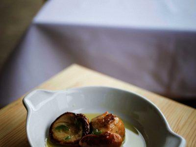 Porcino aglio olio e peperoncino