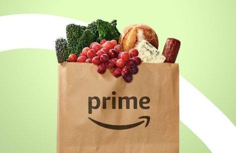 La spesa a casa di Amazon Fresh