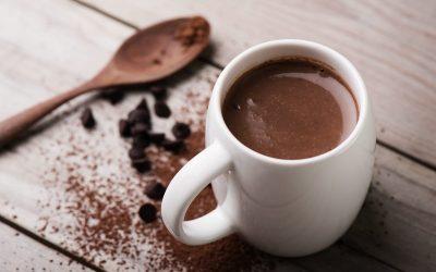 Una tazza di cioccolata calda