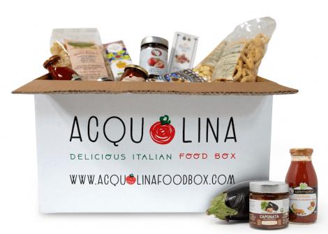 Acquolina food box dolce vita
