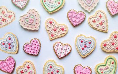 biscotti a cuore San Valentino