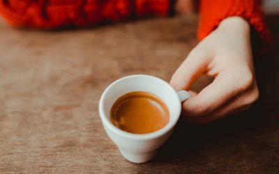 caffè espresso in tazzina