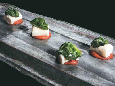 Gnocchi di ricotta, spinaci e peperoni di Caterina Ceraudo