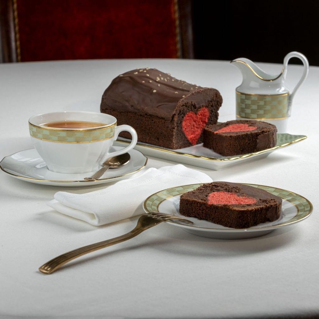 plumcake di san valentino Cracco cafè