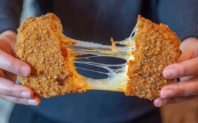 Mozzarella in carrozza fritta