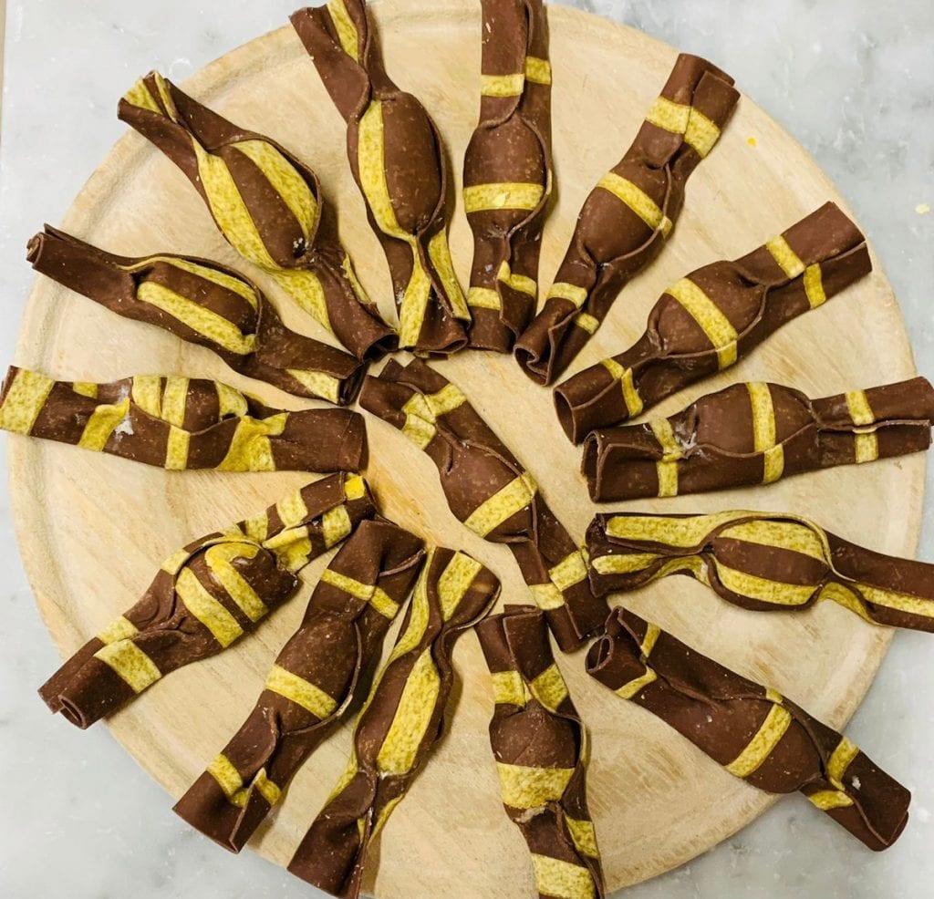 ravioli a caramella di Meraviglie in Pasta