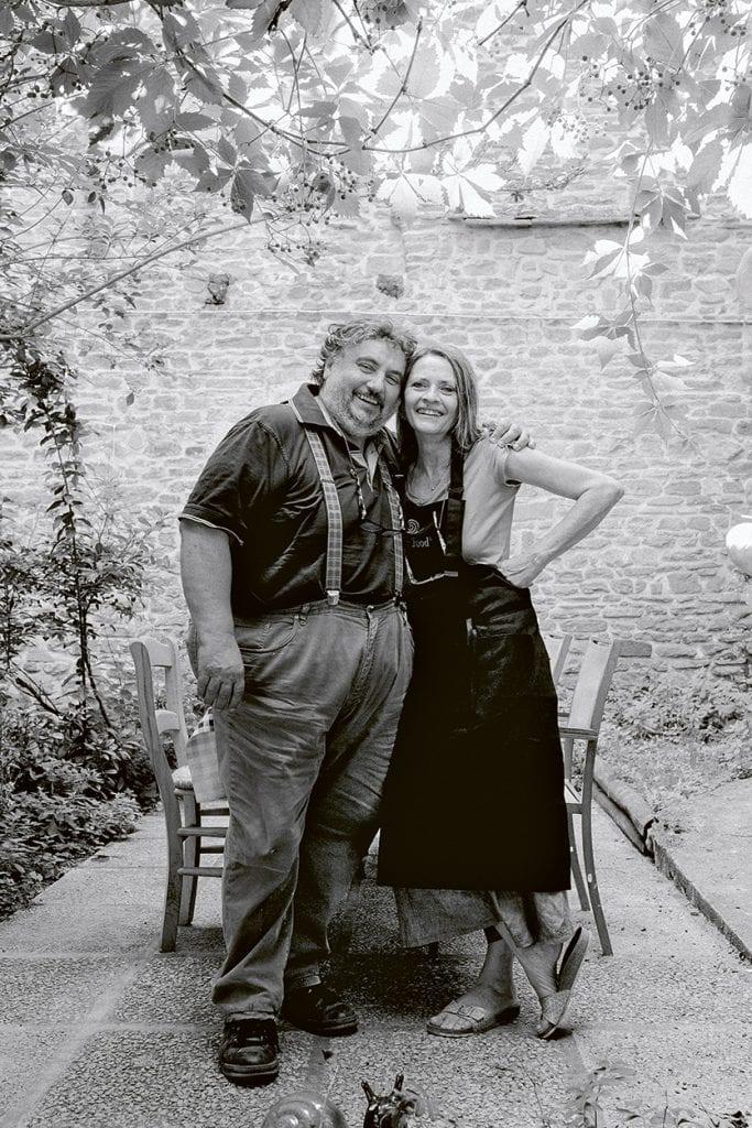 Roberto e Alessandra La Campanara. Foto Gloria Soverini. Libro Ostinati