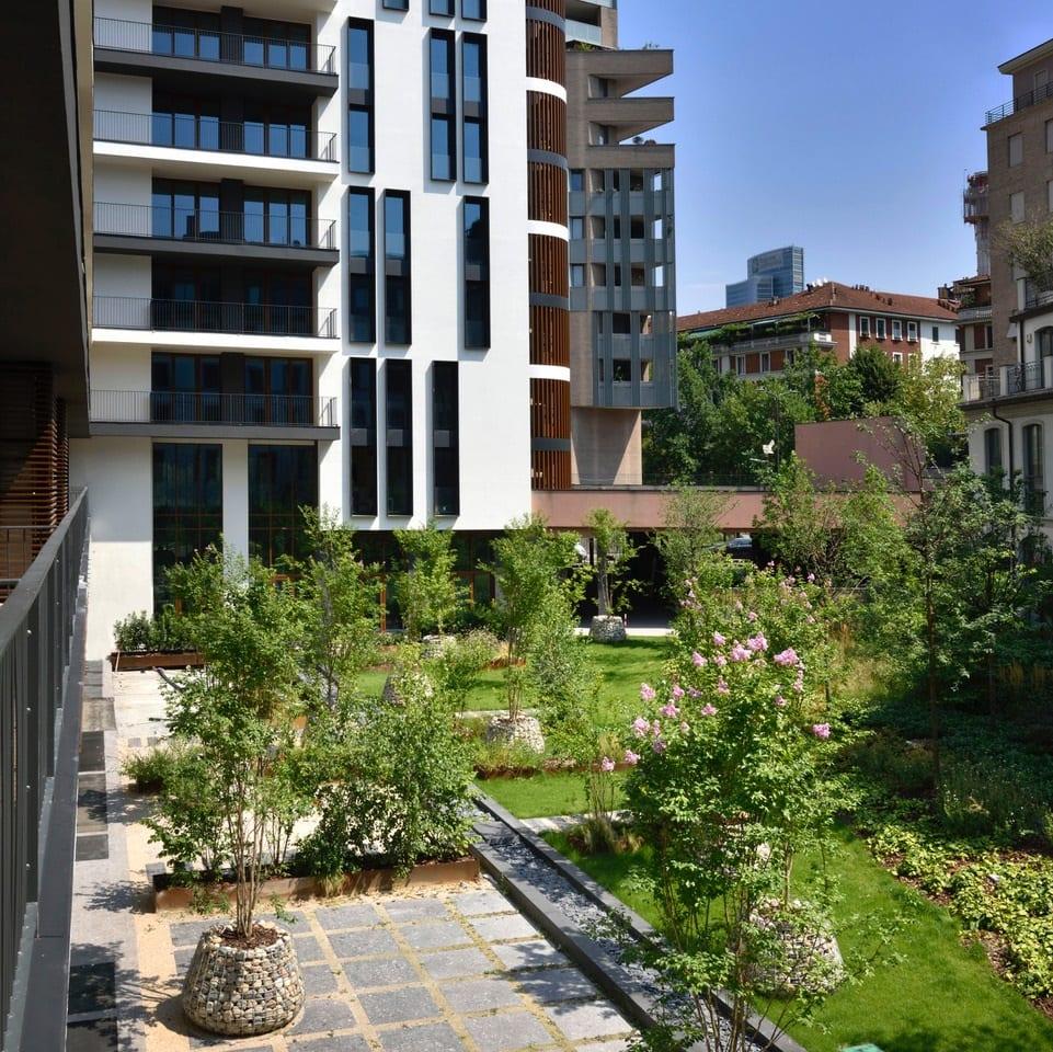 Il giardino segreto di Milano Verticale