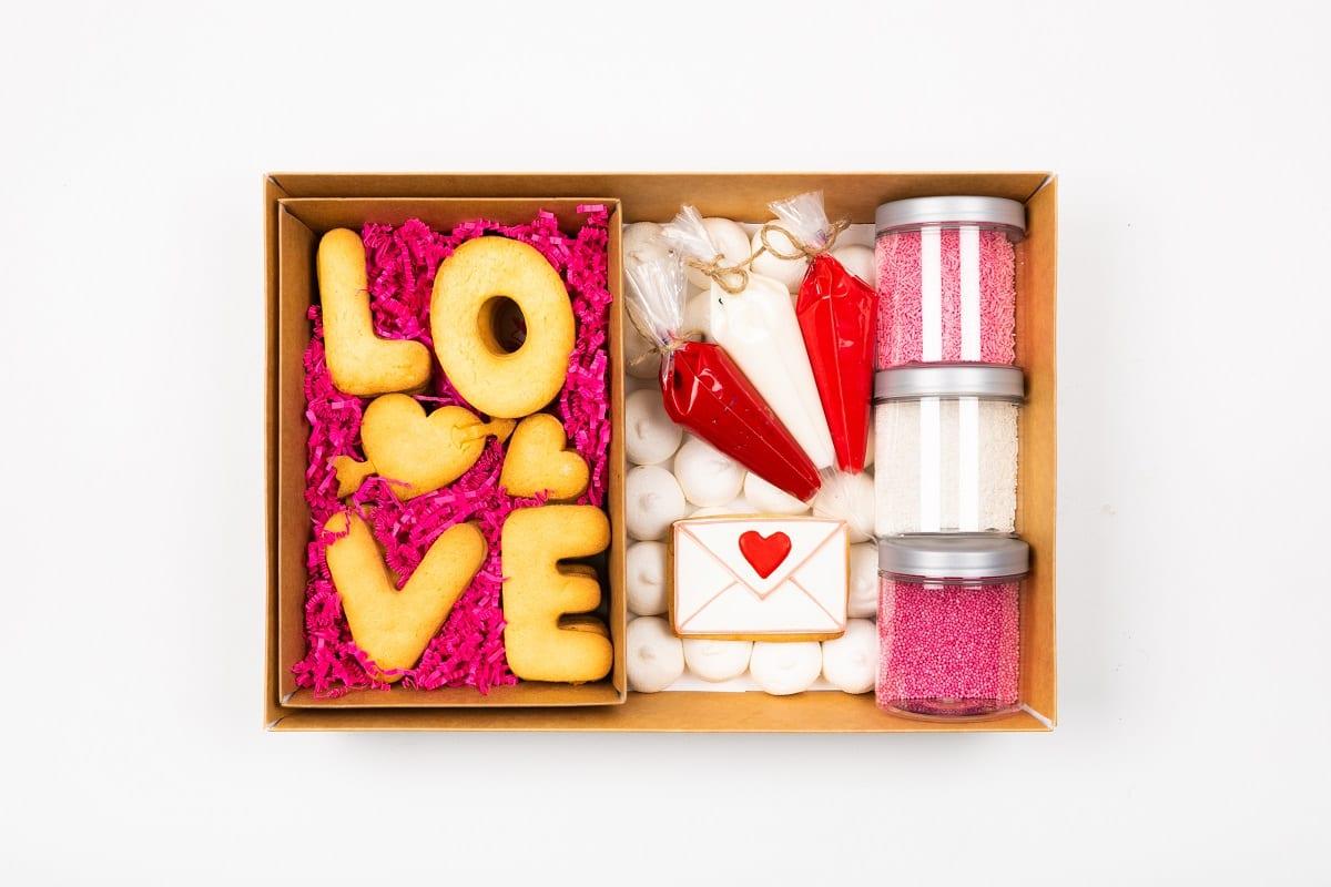 Kit per biscotti di San Valentino