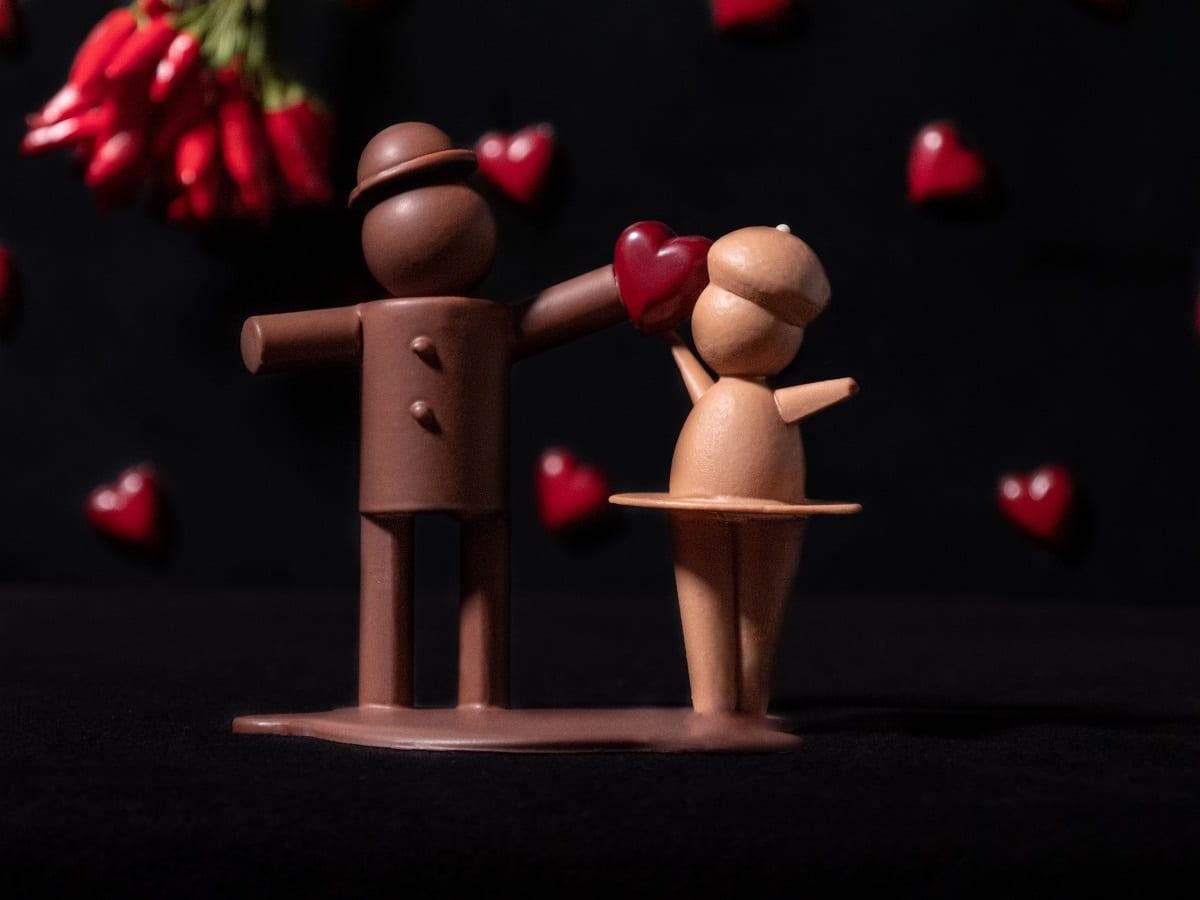 Lui & lei cioccolato di Peck
