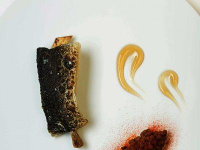 Anguilla, aceto e lenticchie
