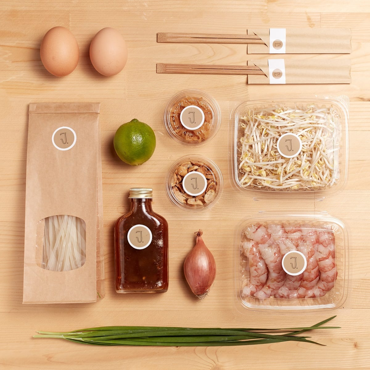 Gli ingredienti della Jaan Box