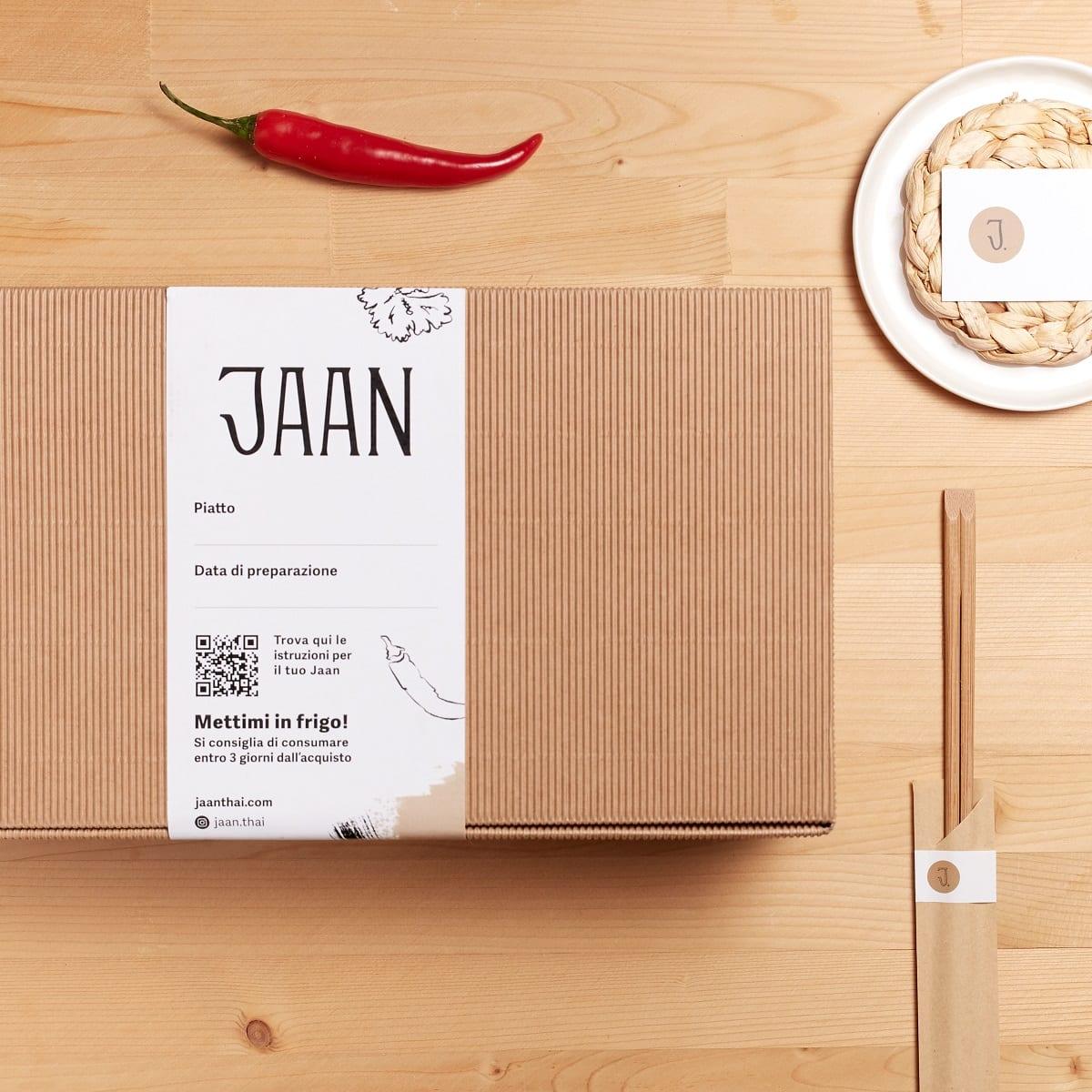 Una Jaan Box delivery