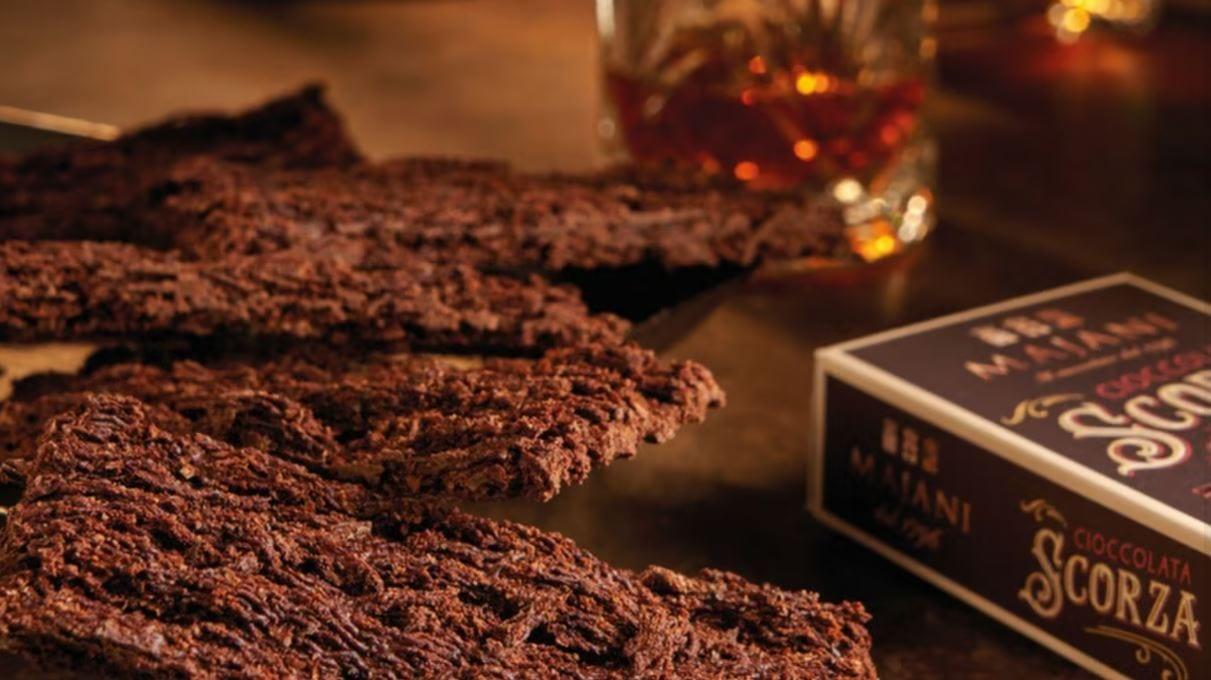 La scorza di cioccolato Majani