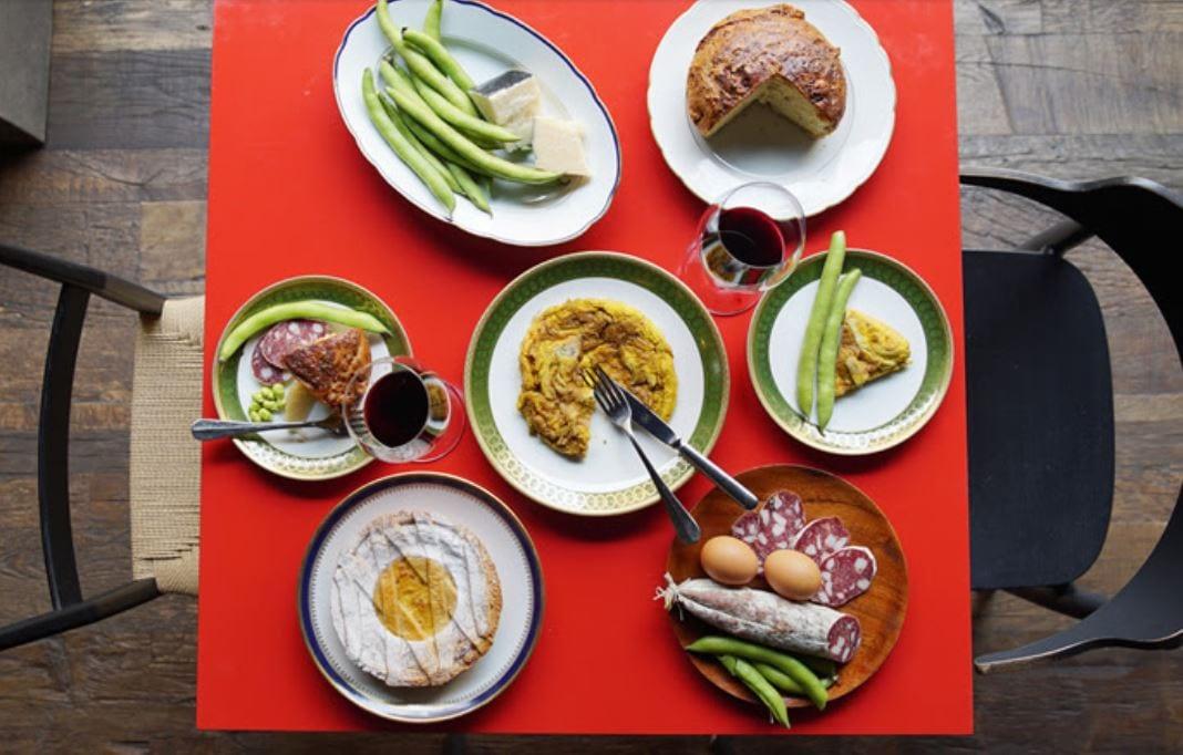 La colazione di Pasqua di Spazio
