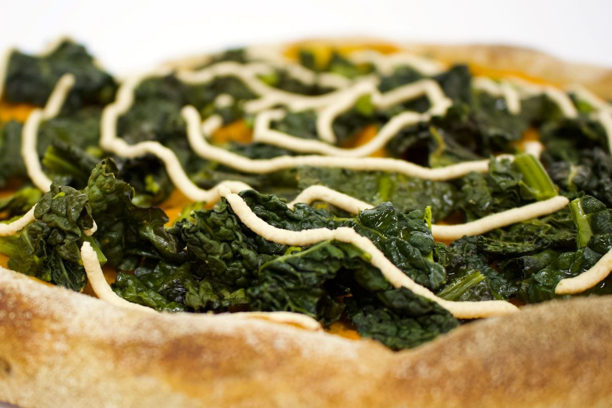 Pizza zucca e ricotta vegana Brisa