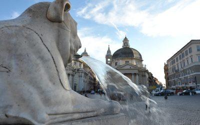 Roma, vista da piazza del Popolo