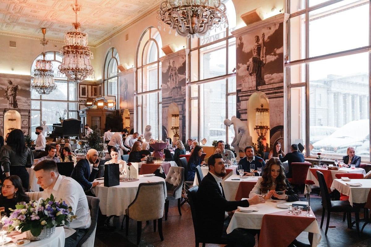 La sala di Balzi Rossi a Mosca