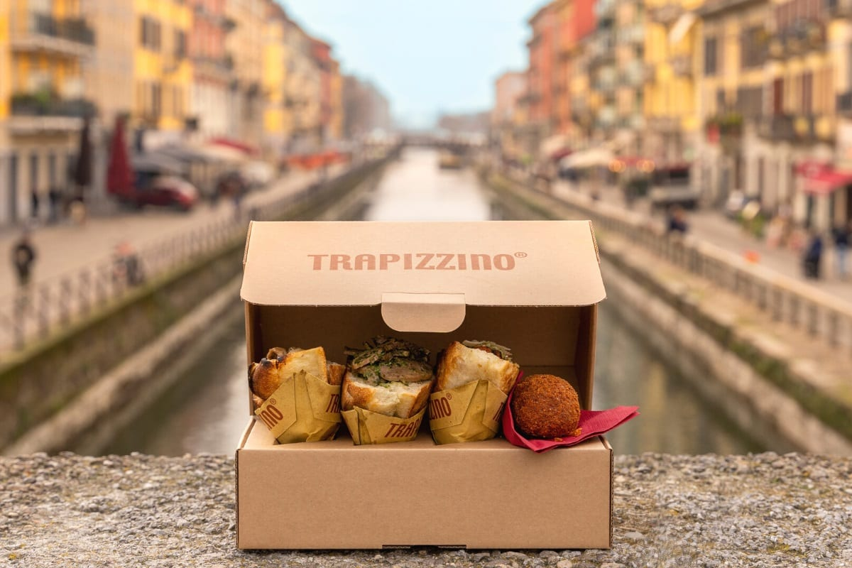 Trapizzini delivery sui Navigli