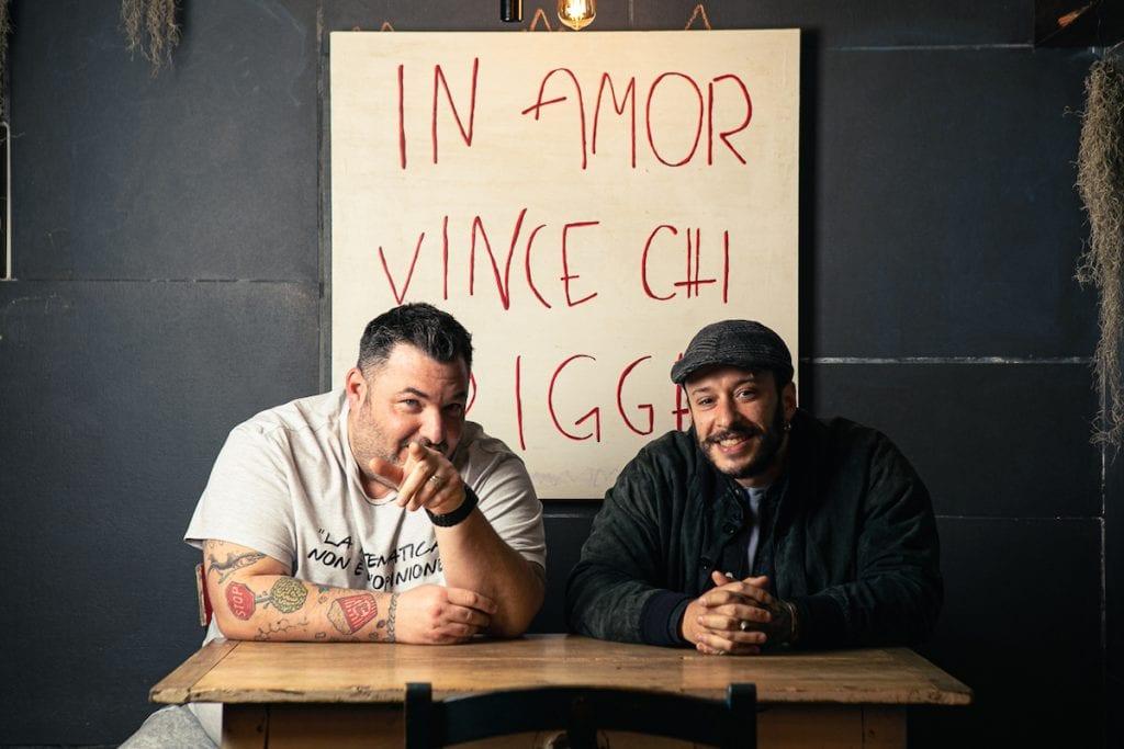 Mirko Rizzo e Federico Feliziani Foto Alberto Blasetti