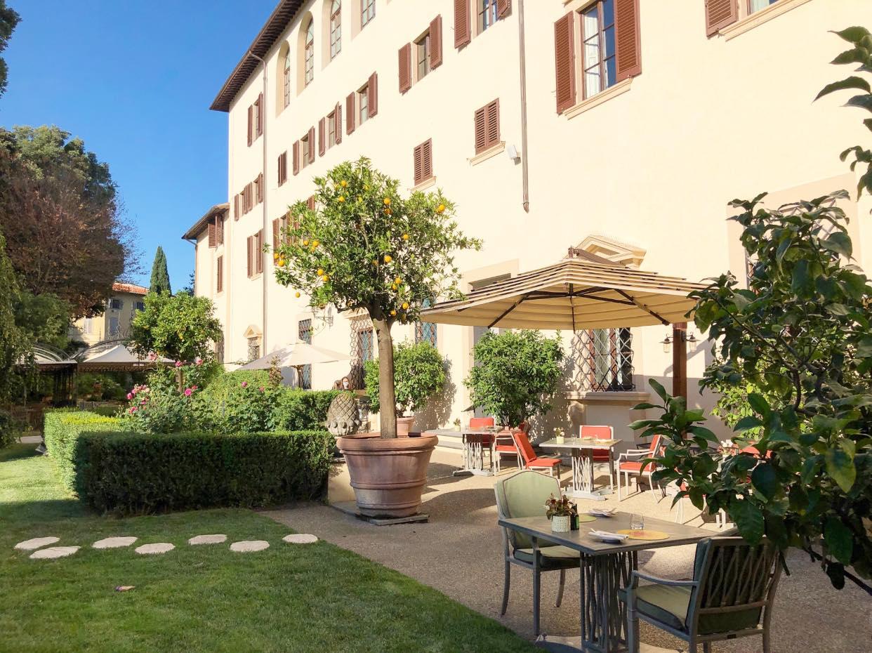 Il giardino del Palagio a Firenze