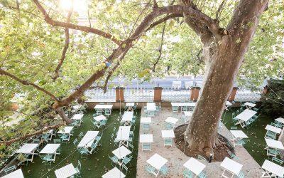 Il giardino dell'Osteria Bartolini