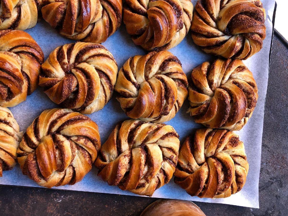 cinnamon swirls di Marigold a Roma