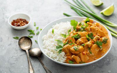 riso e pollo al curry