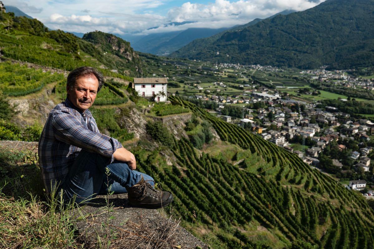 Danilo Drocco della cantina Nino Negri in Valtellina