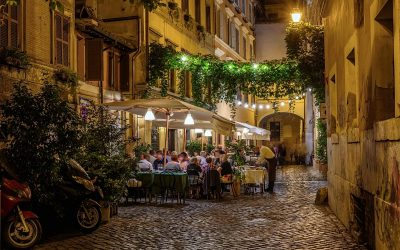 Dehors in centro a Trastevere