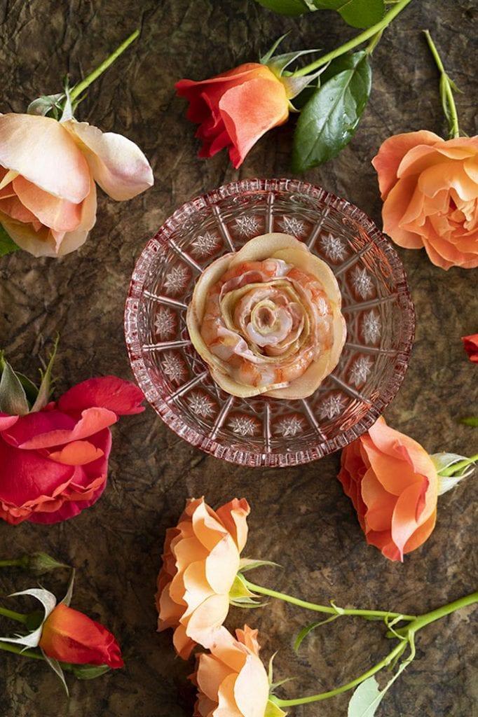 Un piatto del menu Fiori del Mirazur Foto Matteo Carassale