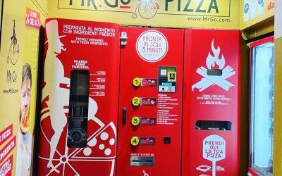 Distributore automatico di pizza