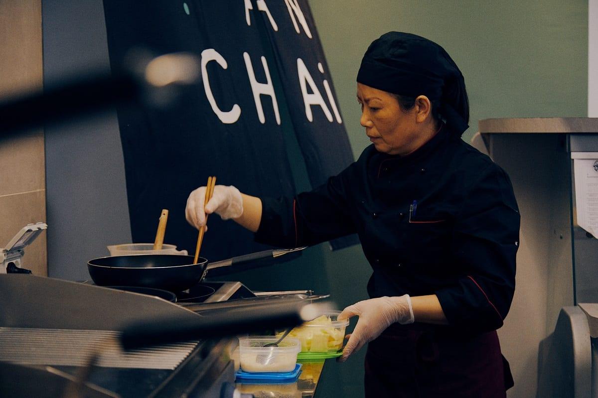 In cucina da Hekfanchai
