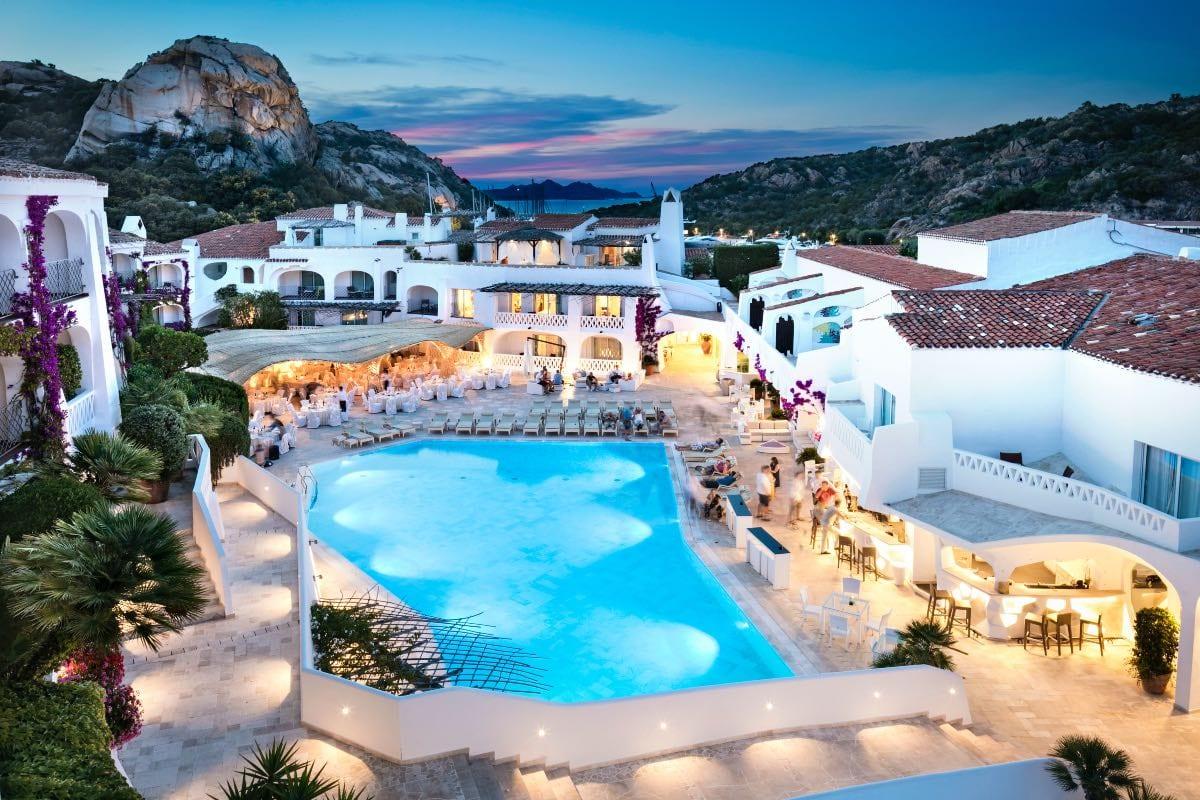 Hotel a Poltu Quatu in Sardegna Swimming Pool