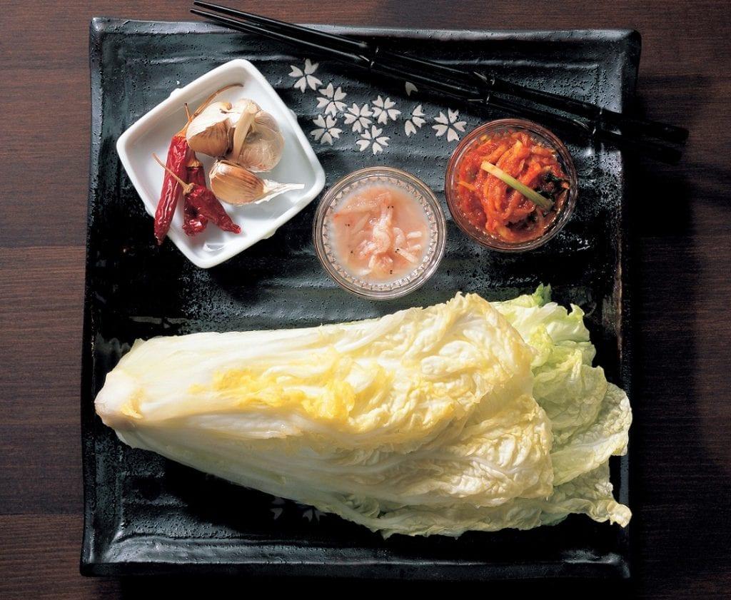 Ingredienti del kimchi