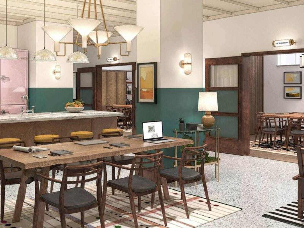 L'appartamento dell'hotel The Hoxton di Roma
