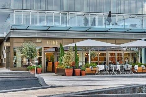 La terrazza di Fiume a Londra