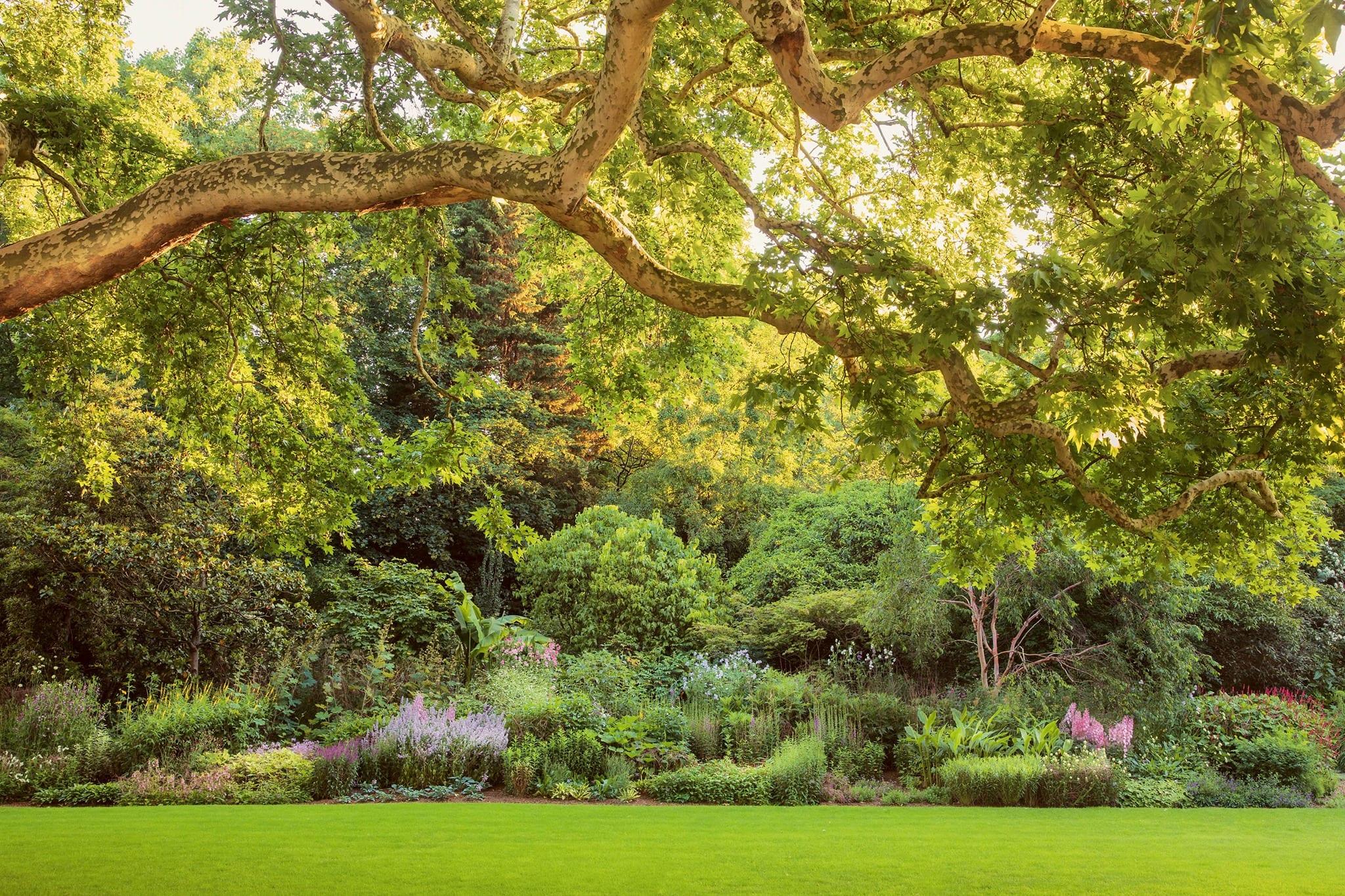 I giardini di Buckingham Palace