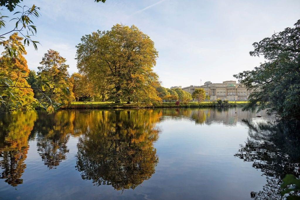 Il lago di Buckingham Palace