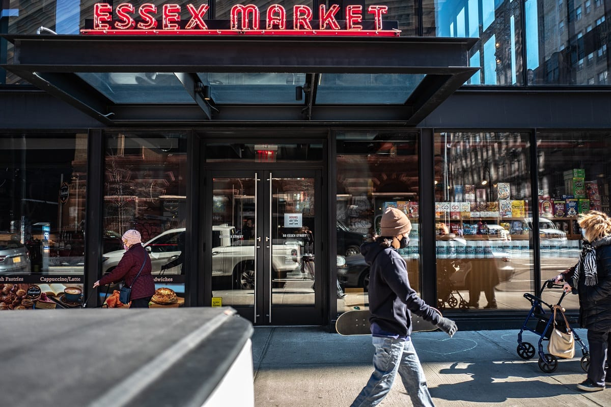 Essex Market New York, ingresso