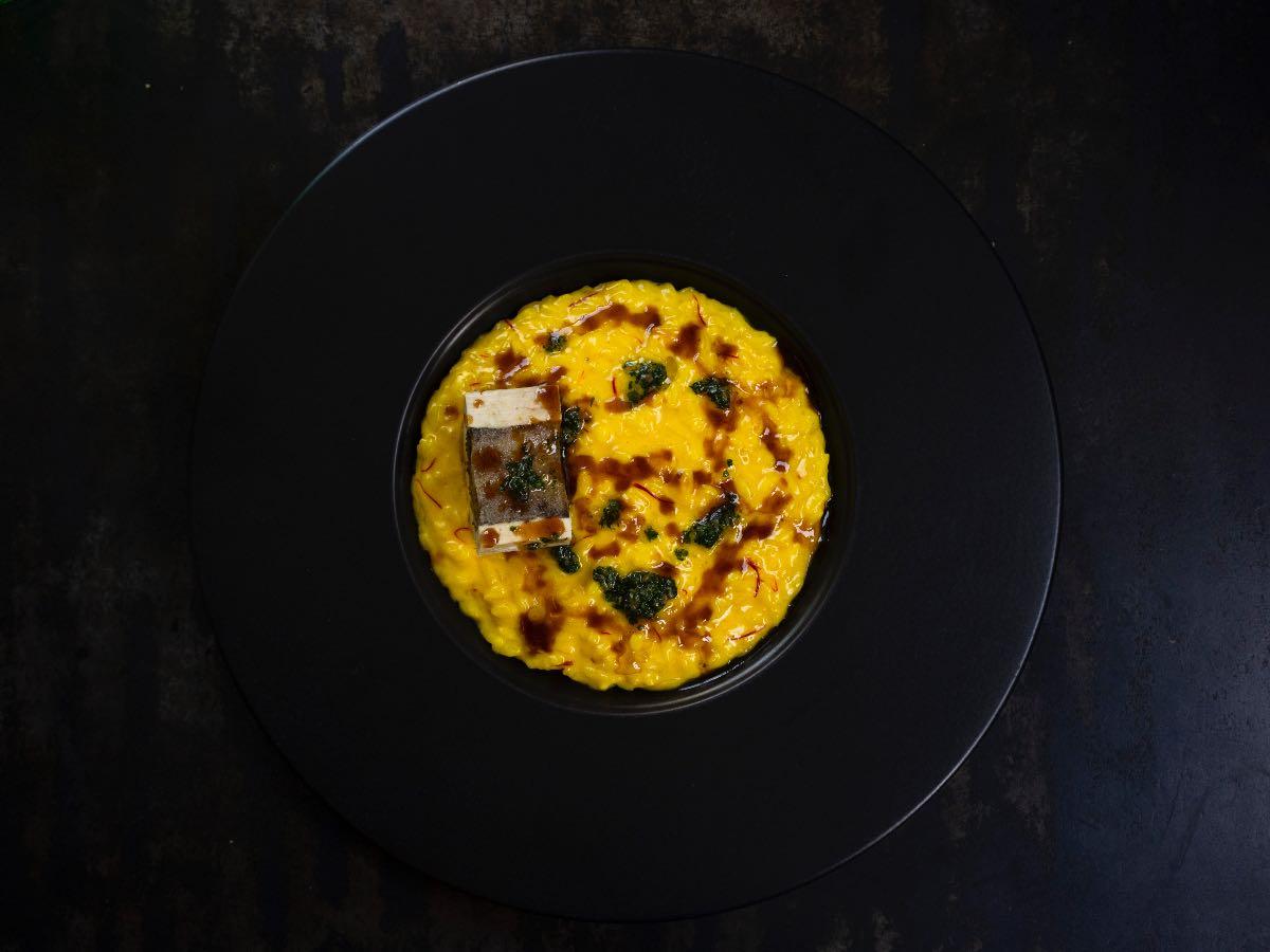 Il risotto allo zafferano e ossobuco di Cesare Battisti