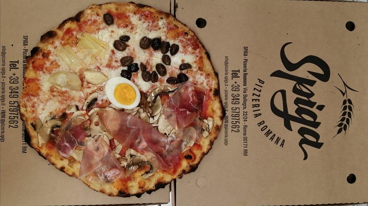 La pizza capricciosa di Spiga