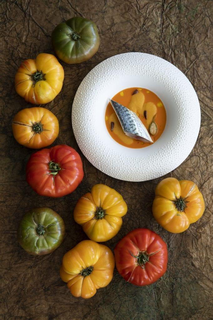 Un piatto del menu Frutta del Mirazur Foto Matteo Carassale